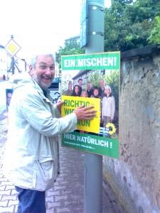 Richtig wählen - Grün natürlich !